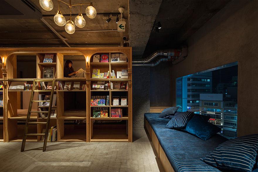 Tokyo Kütüphane Hotel
