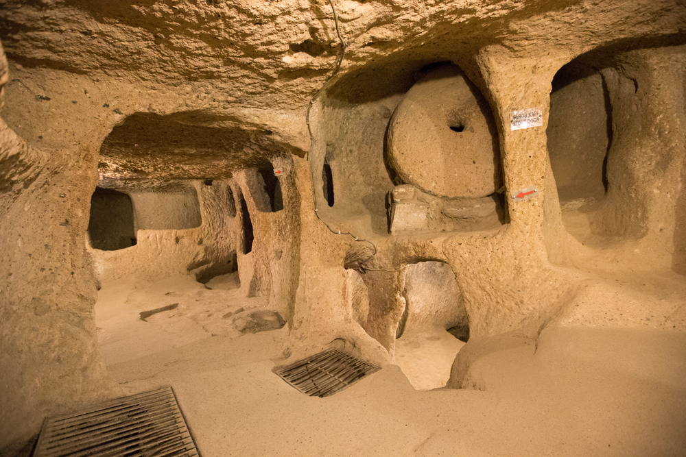 Kapadokya, Yeraltı Şehirleri
