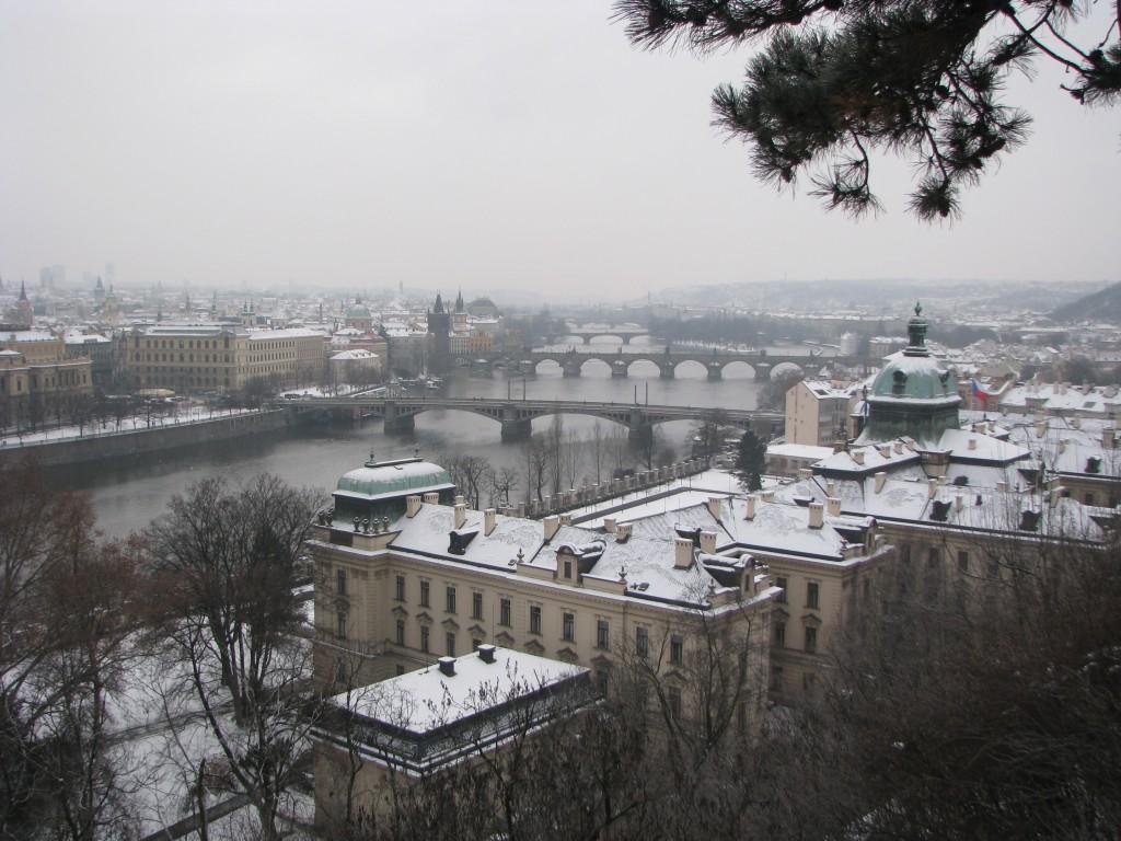 Prag'tan Bir Manzara