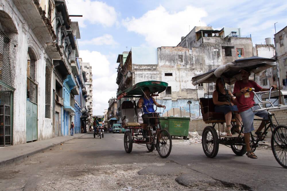 Küba'nın yerel taksisi