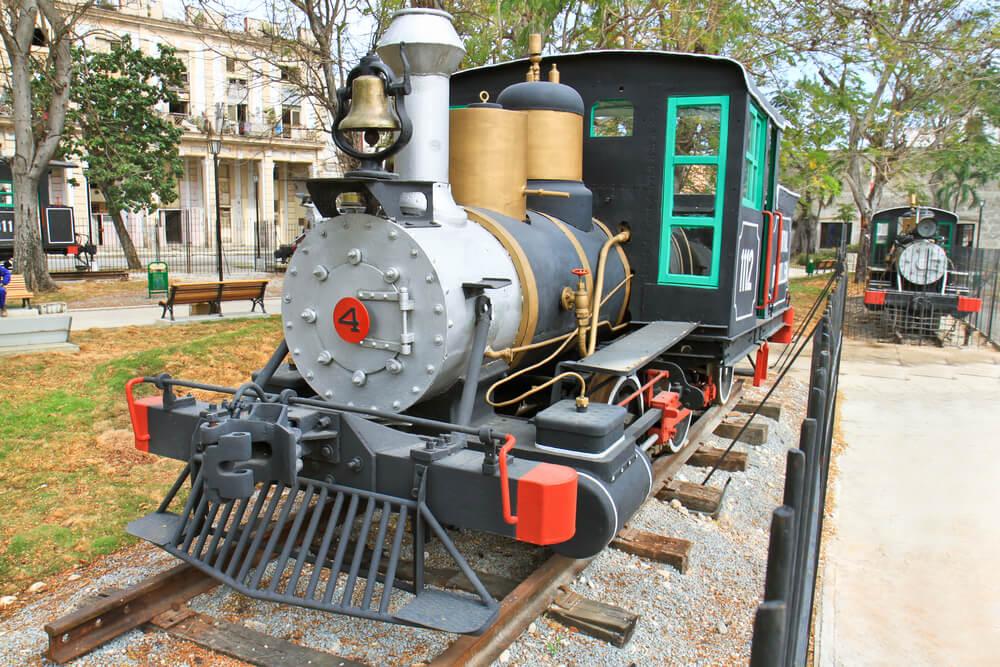 Latin Amerika'nın İlk Treni Küba'da...