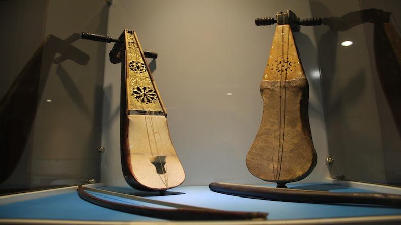 Müzik müzesindeki enstrümanlar 5 kıtanın kültürel özelliklerini yansıtıyor