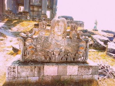 Aizanoi Antik Kenti'nden Bir Görüntü