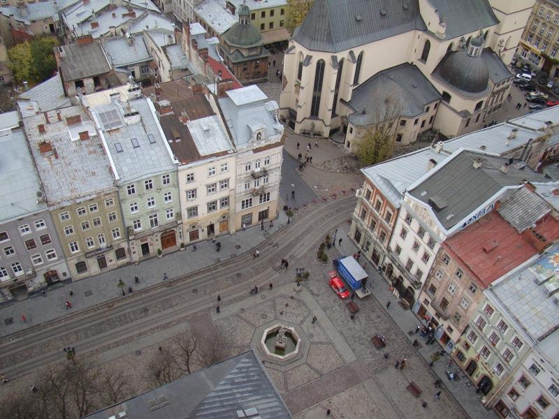 Kuşbakışı Lviv...