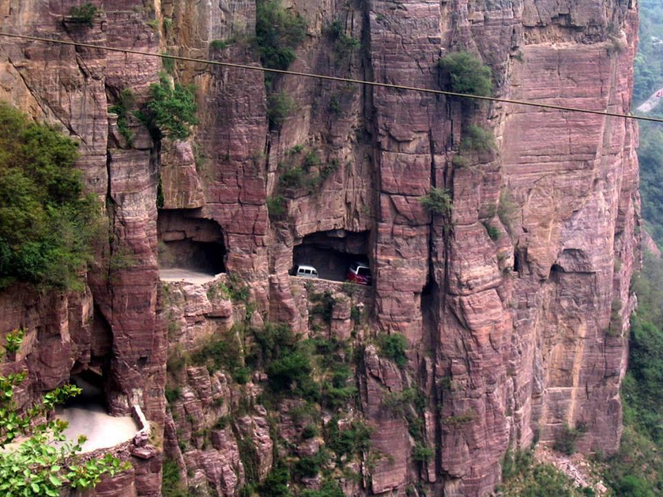 Guoliang tünel yolu, Çin