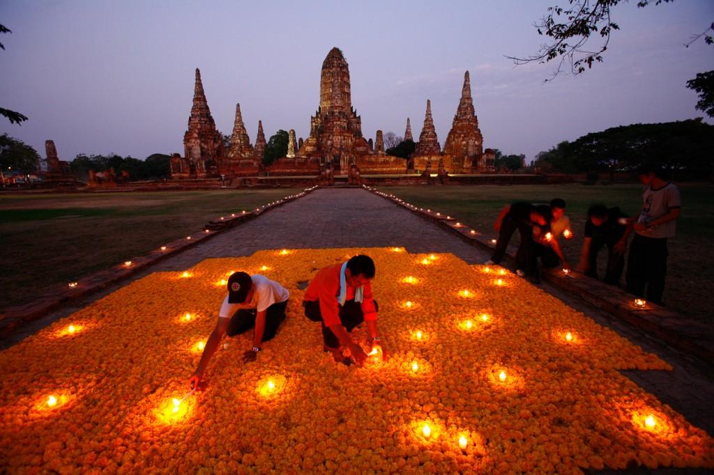 Çiçeklere Hürmet, Tayland