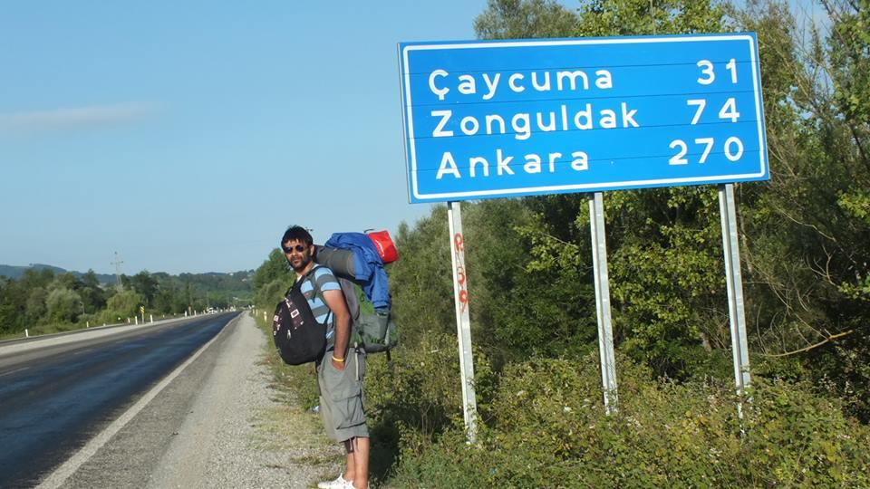 Yürüyerek Geldiğim Bartın-Amasra'yı Yine Farklı Rotadan Yürüyerek Gidiyorum.. Seyahatim Oldukça Zevkli Geçiyor !