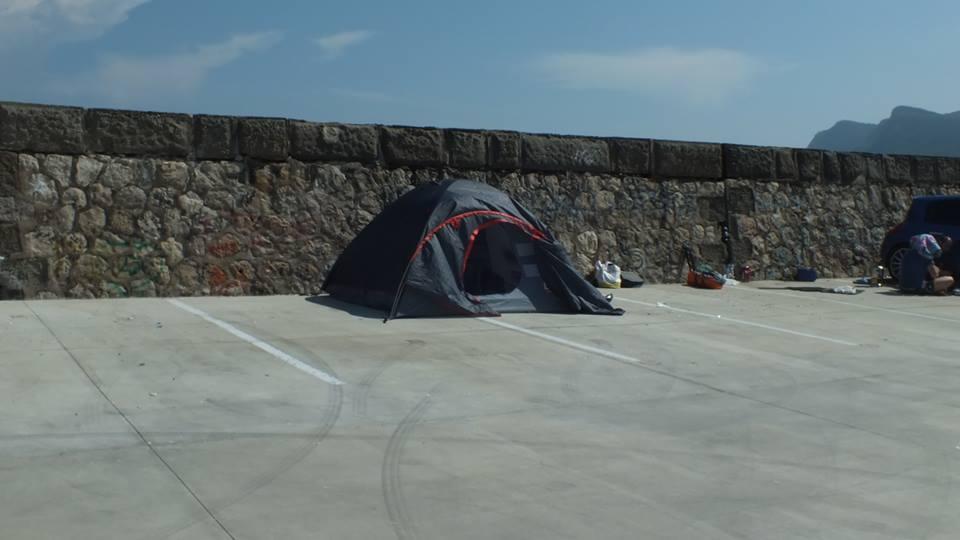 Konaklama Konusunda Tercihimi Amasra Limanında Çadırımı Kurarak Ücretsiz Olarak Sağlamış Oldum !