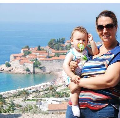 Oğlum 1 yaşında.. Sveti Stefan, Karadağ