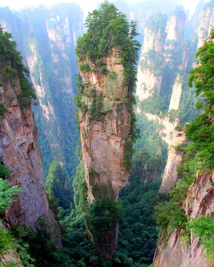 Tianzi Dağları , Çin