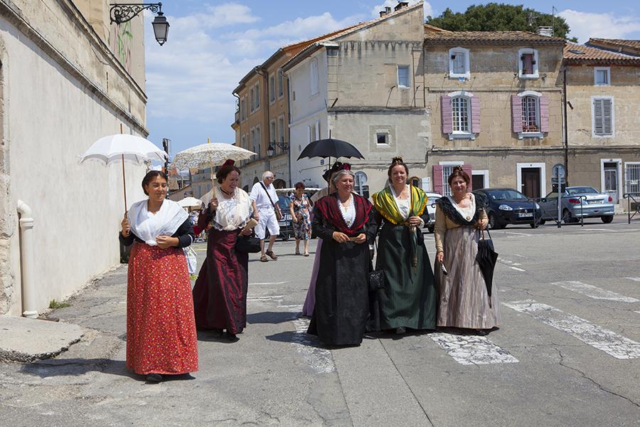 Arles Tiyatro Festivali sokaktan görüntüler (2)