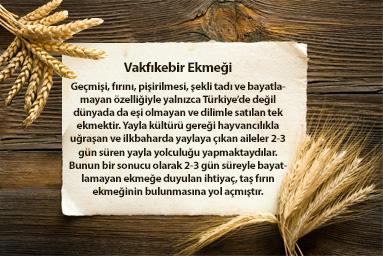 Uçaklı Karadeniz Turları Vakfıkebir Ekmeği