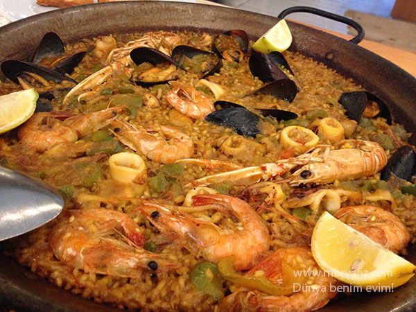 Barselona paella