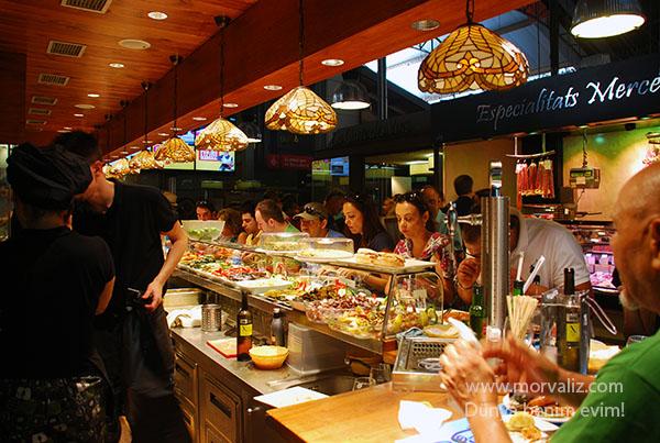 Barselona marketlerden görüntü