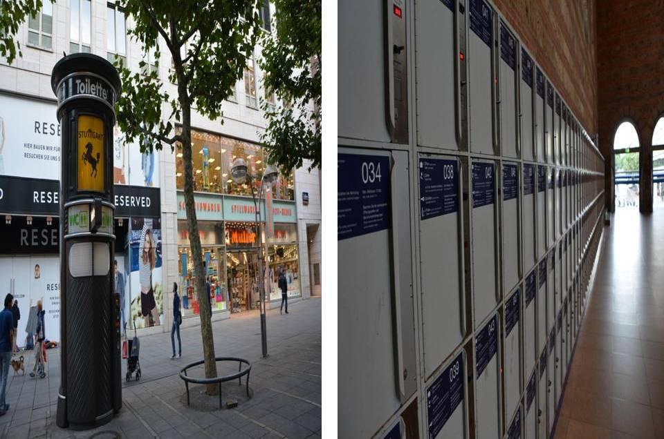 Stuttgart Tuvalet ve Dolaplar
