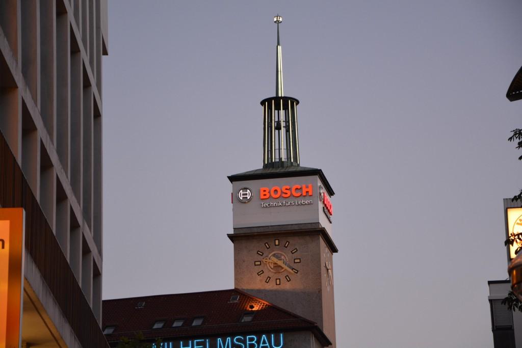 Stuttgart Bosh Saat Kulesi