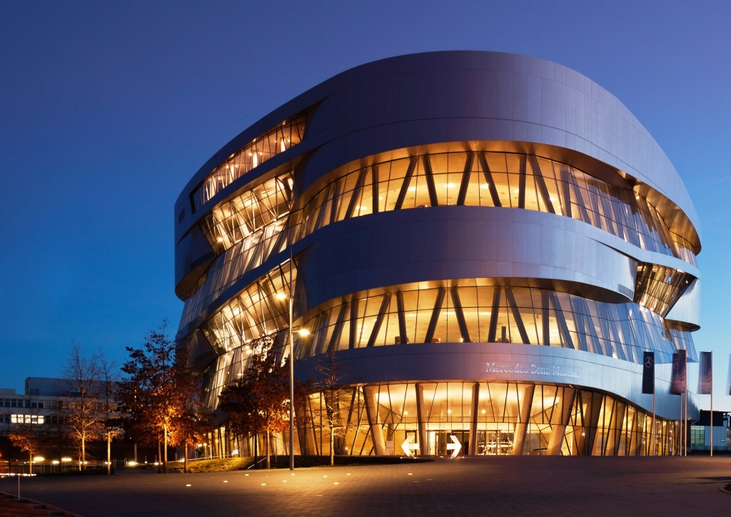Stuttgart Mercedes Müzesi