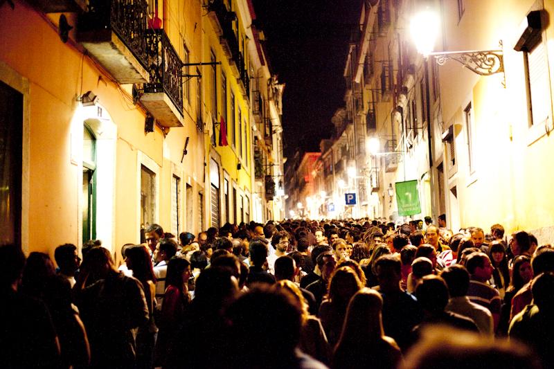 Lizbon'da Gece Hayatı