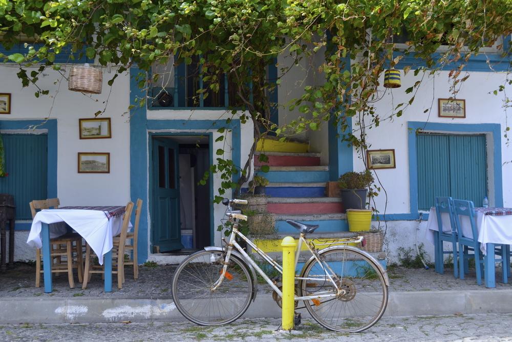 Bozcaada'da Bisiklet Keyfi
