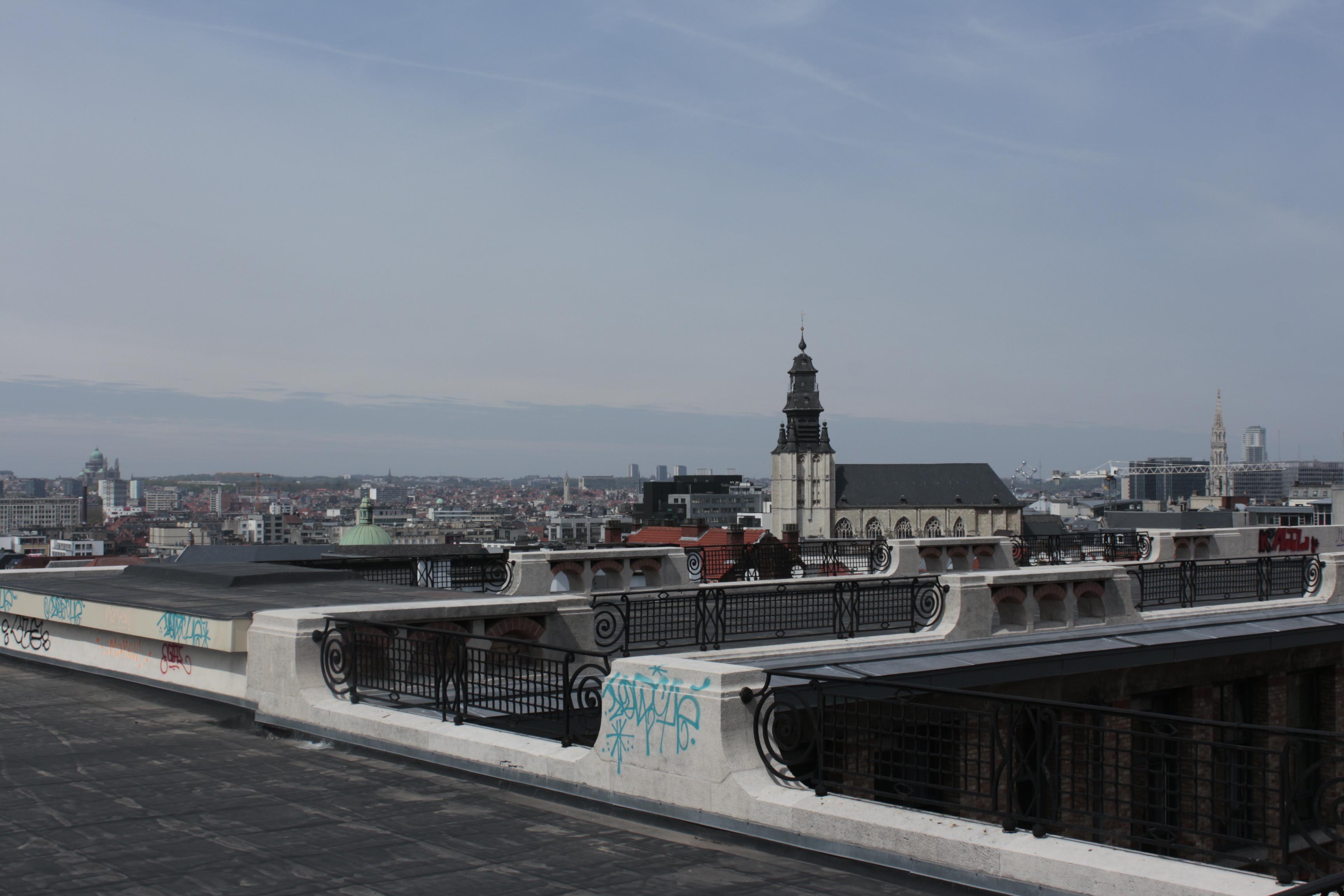 Brüksel şehir manzarası