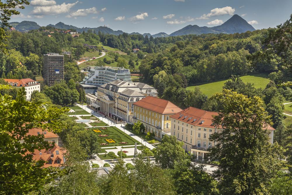 Slovenya'da Spa Merkezi