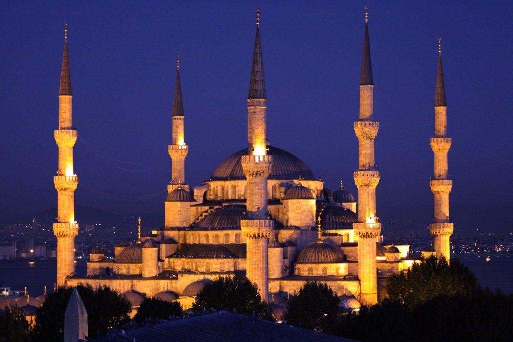 Sultan Ahmet Camii Gece
