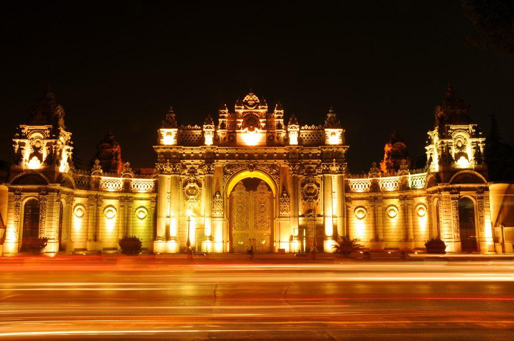 Dolmabahçe Sarayı Gece