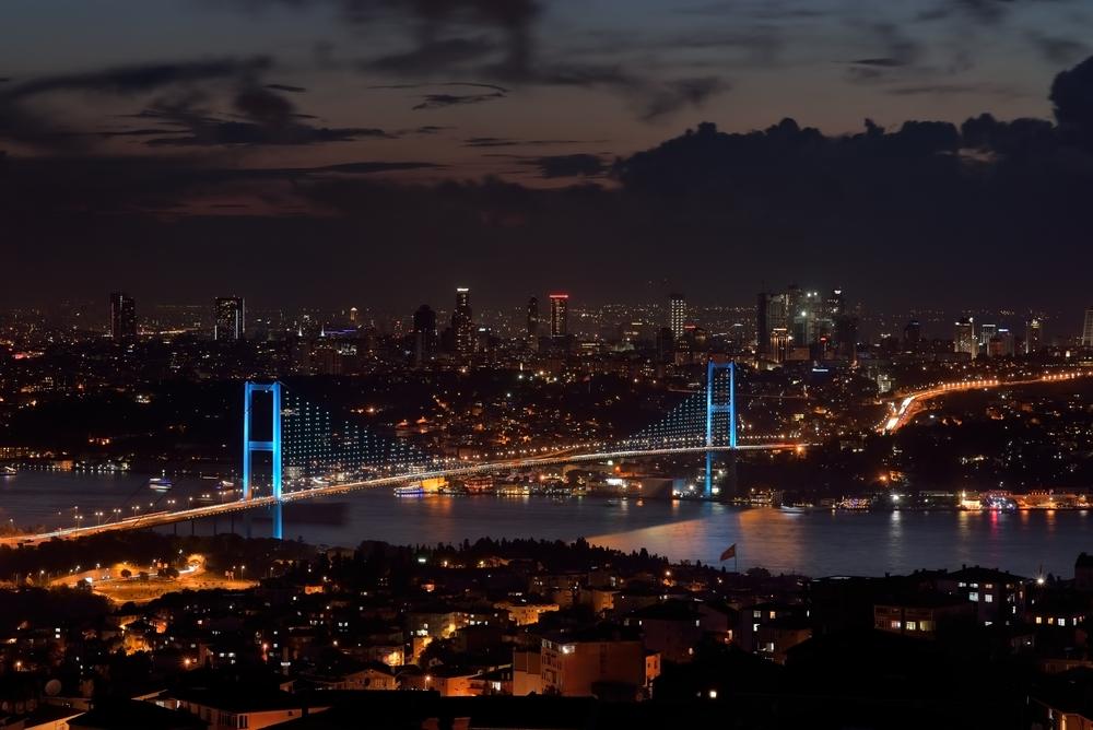 Boğaziçi Köprüsü Gece