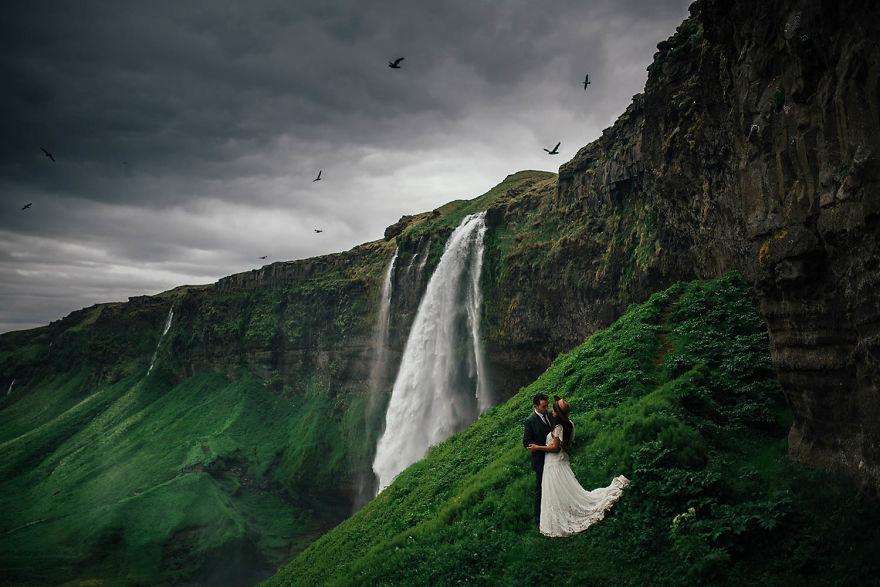 Seljalandsfoss , İzlanda