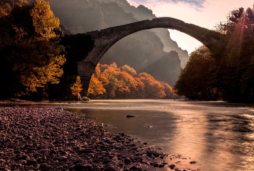 Kanitsa Köprüsü, Yunanistan
