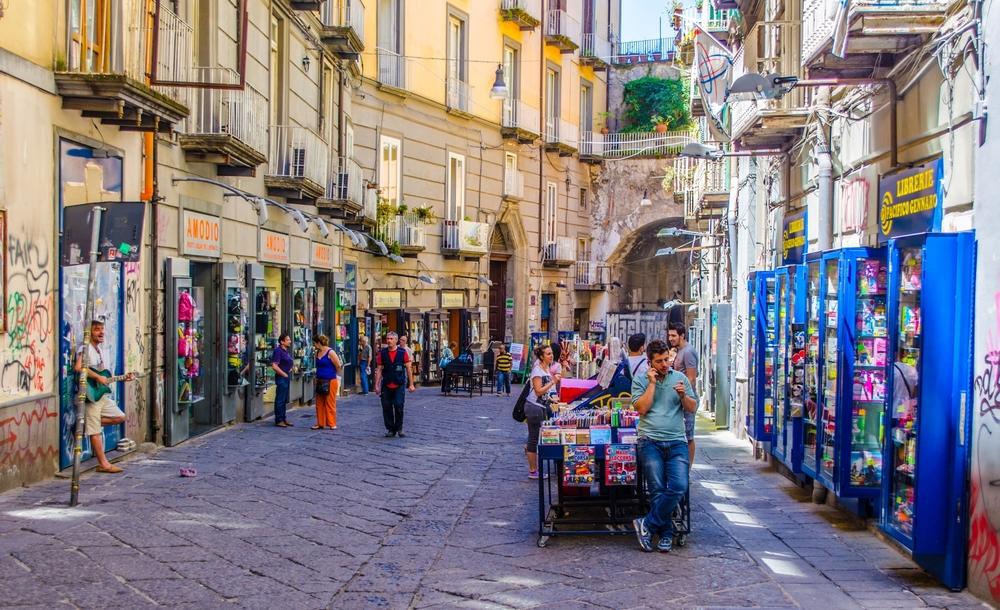Napoli sokaklari