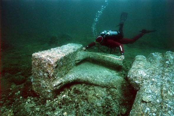 Yüzyıllardır kayıp şehir: Heracleion