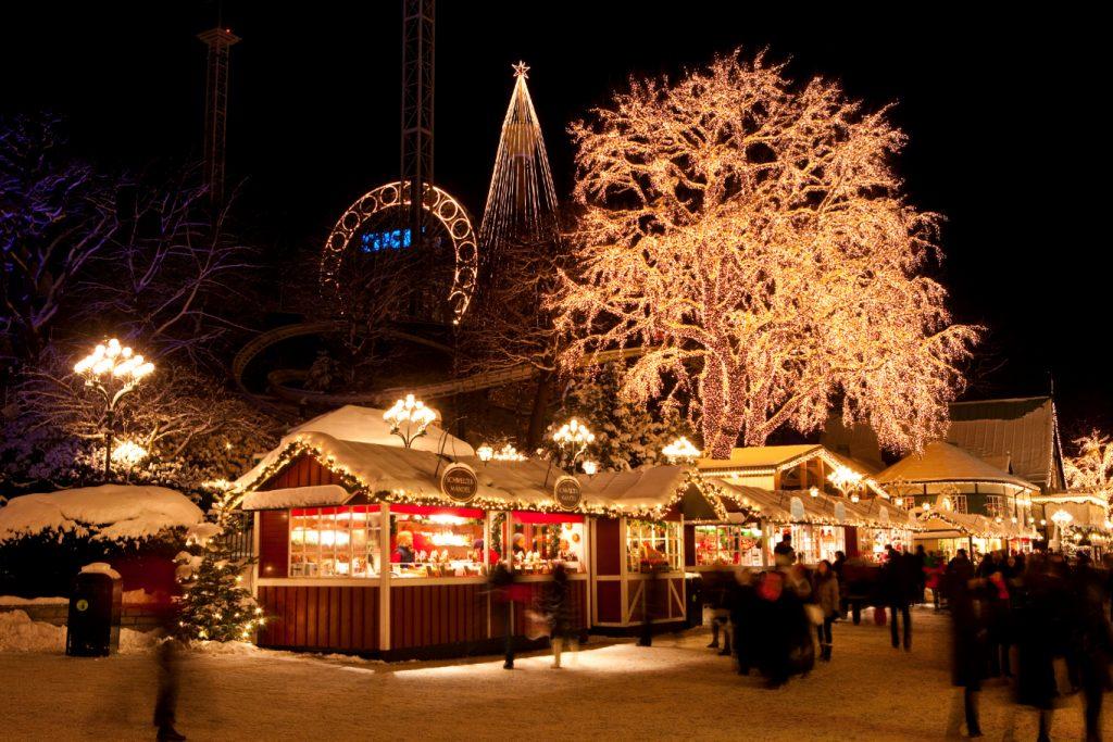 İsveç Noel Pazarı