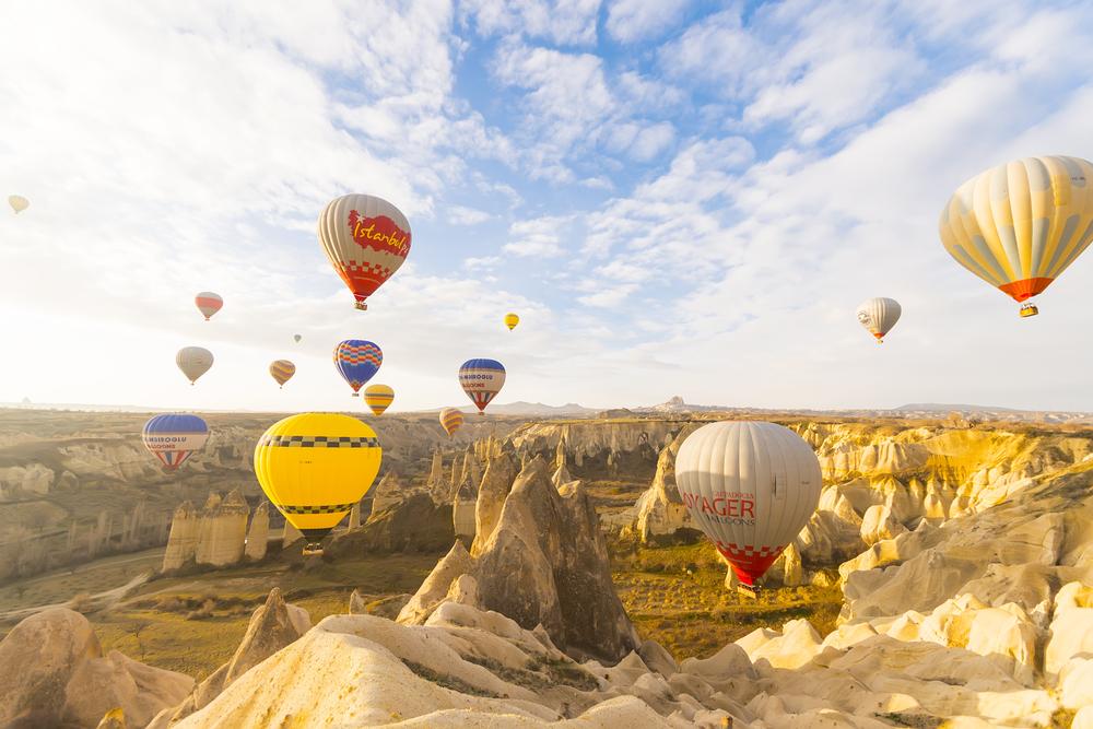 Türkiye, Kapadokya
