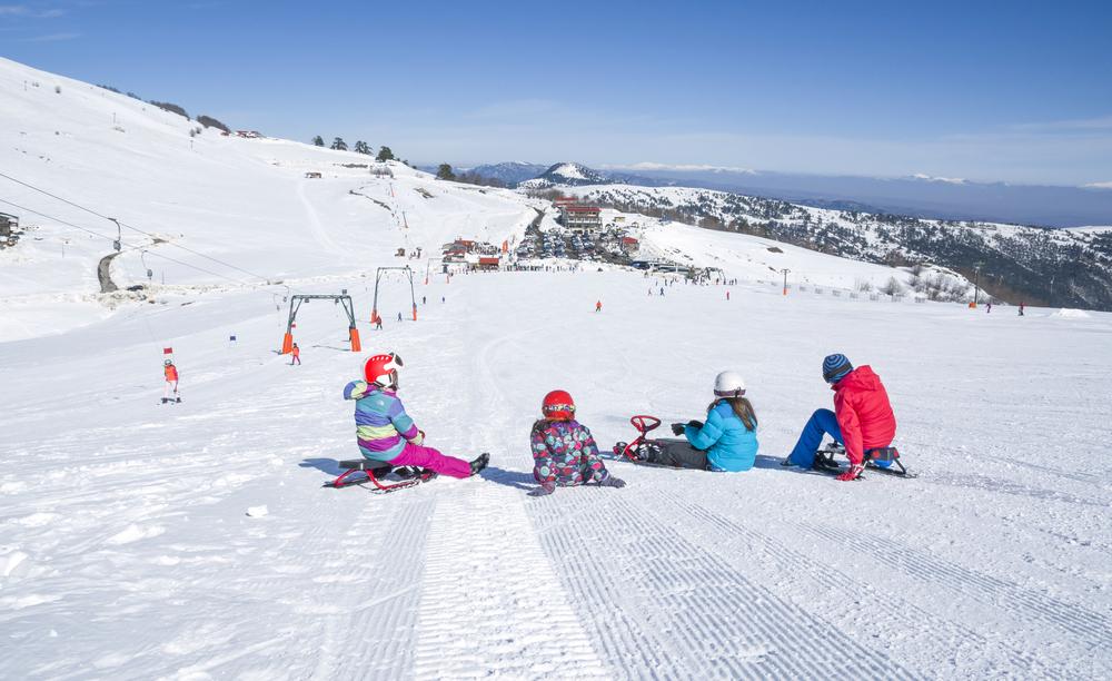 Kışın Kayak Keyfi