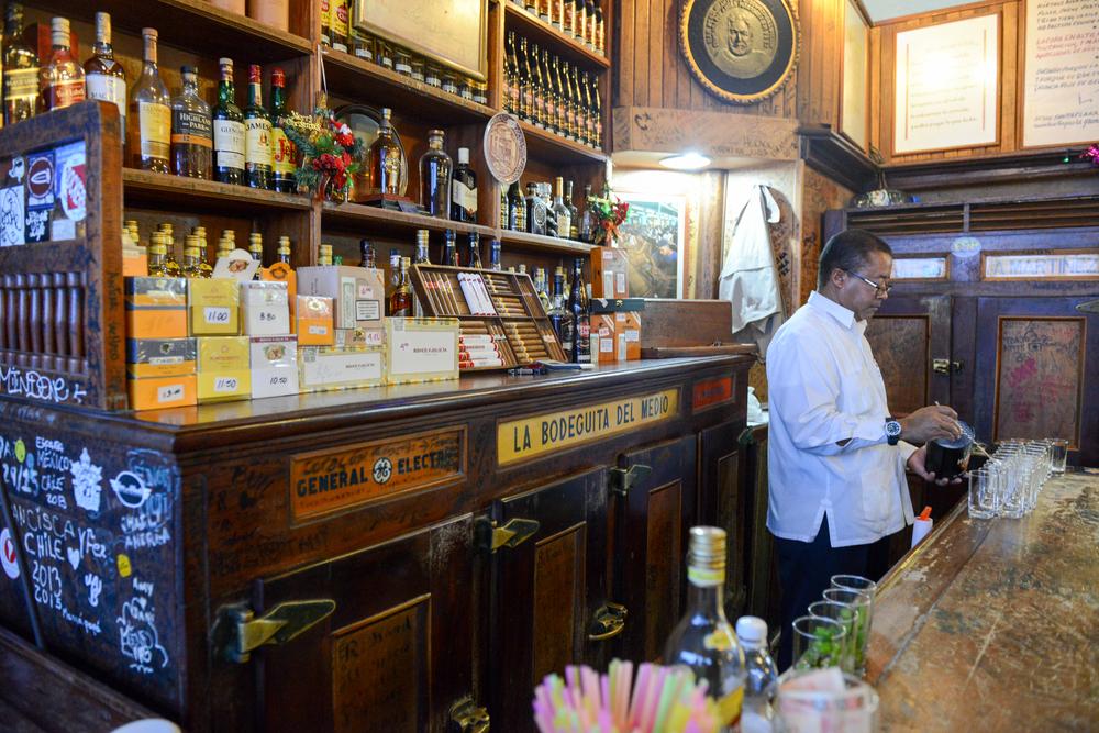 La Bodeguita del Medio Barı Küba