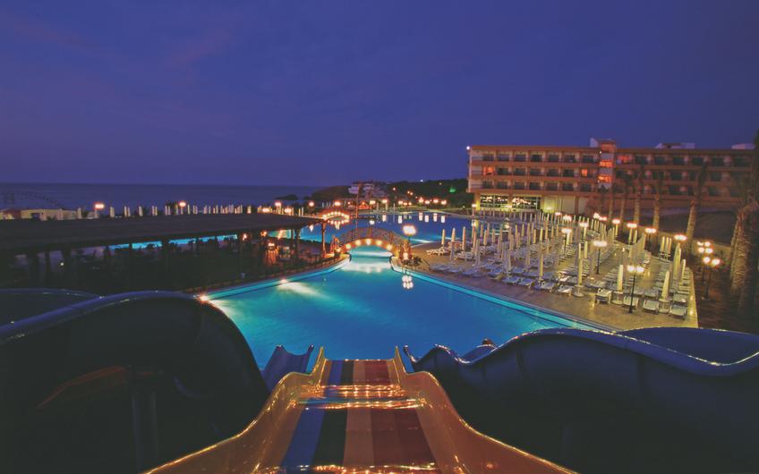 Acapulco Resort Night View