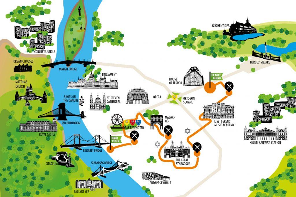 Budapeşte City Map
