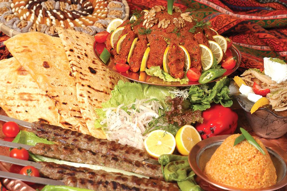 Adana kebap table