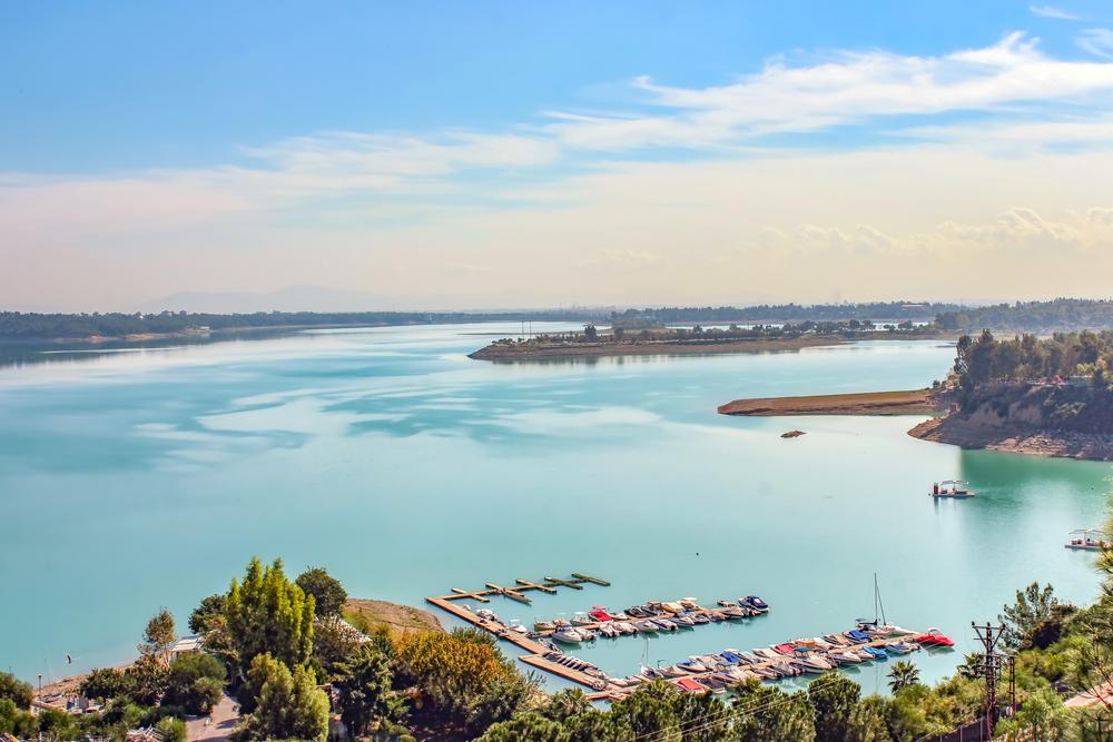 Seyhan Dam Lake