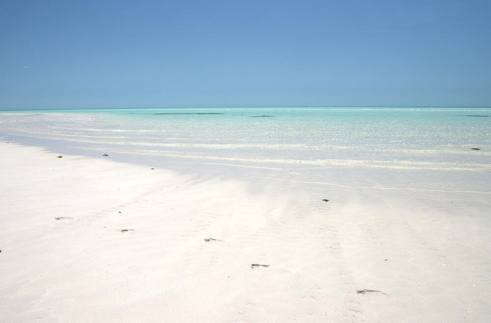 Katar da deniz ve kum